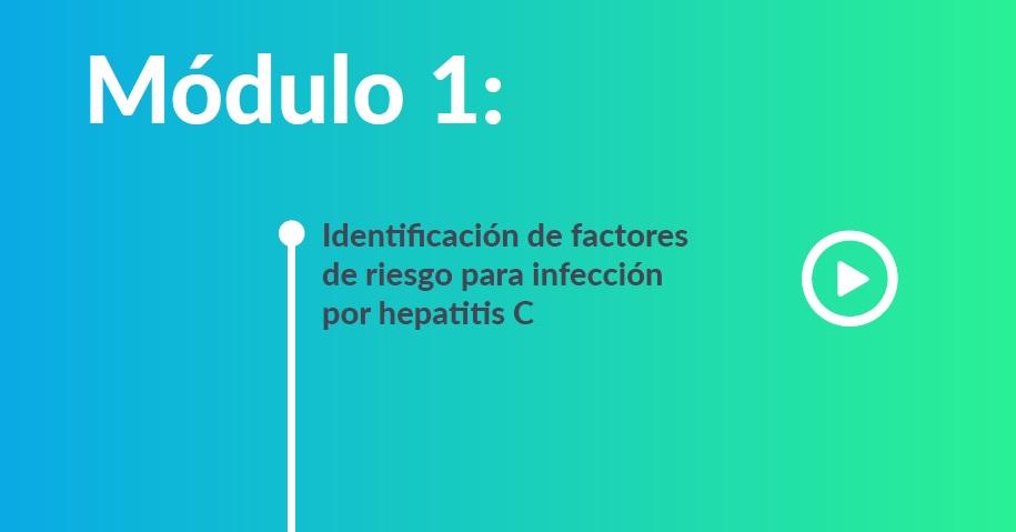 Identificación de factores de riesgo para infección por hepatitis C